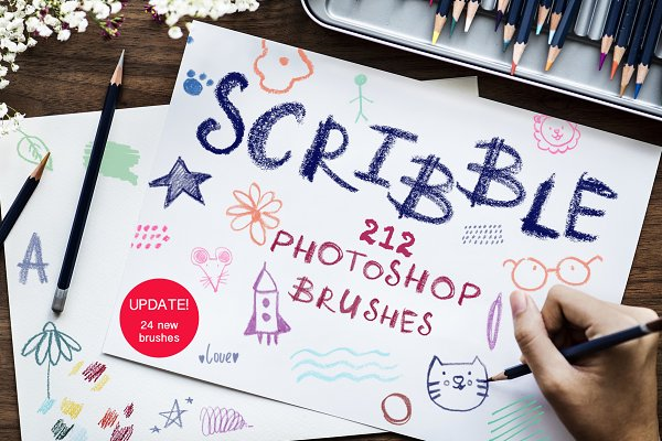 Download Scribble-PS Brushes