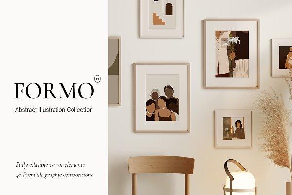 Download FORMO - Abstract illustration Bundle