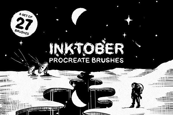 Download Inktober Procreate brushes