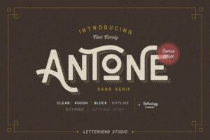 Download Antone Family - 7 FONTS