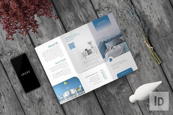 Download Azure Multipurpose Trifold