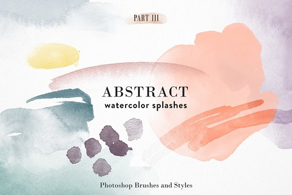 Download Abstract Watercolor - PS Brushes