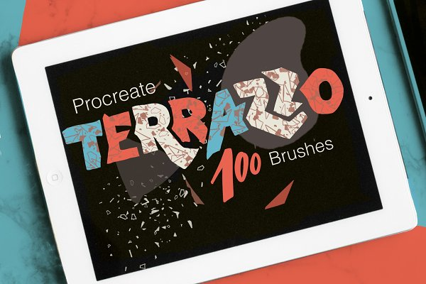 Download Abstract Terrazzo Collage kit