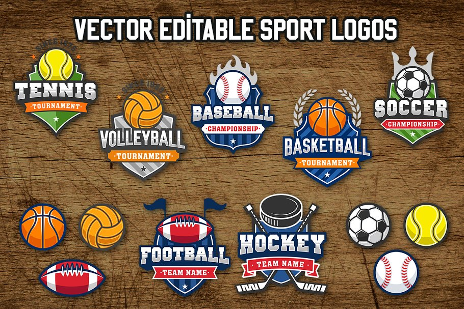 Download Sports Vintage Logos