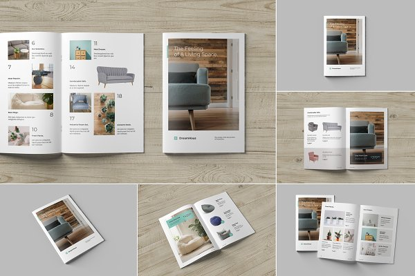 Download Brochure and Catalog Mockups