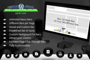 Download FISHEYE Menu Bar