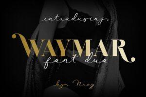 Download Waymar font duo