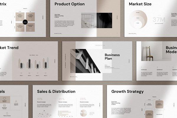 Download Business Plan Keynote Template