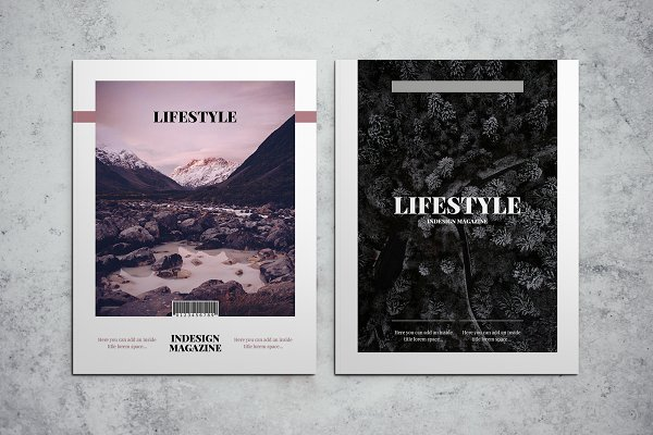 Download Lifestyle Magazine Indesign Template