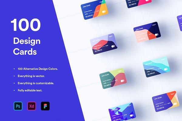 Download 100 Financial Virtual Design Cards