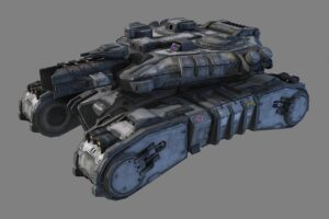Download SciFi Medium Tank - MK2