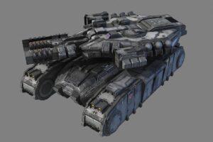 Download SciFi Heavy Tank - MK3