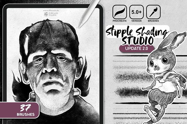 Download Procreate - Stipple Shading Studio