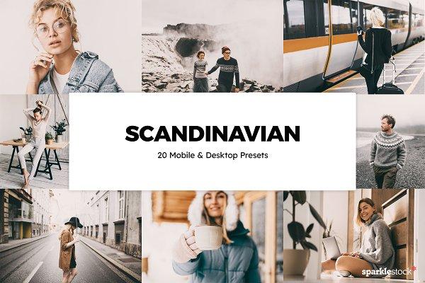 Download 20 Scandinavian Lightroom Presets