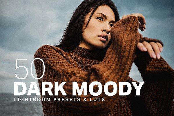Download 50 Dark Moody Lightroom Presets LUTs