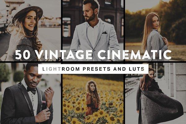 Download 50 Vintage Cinematic Presets & LUTs