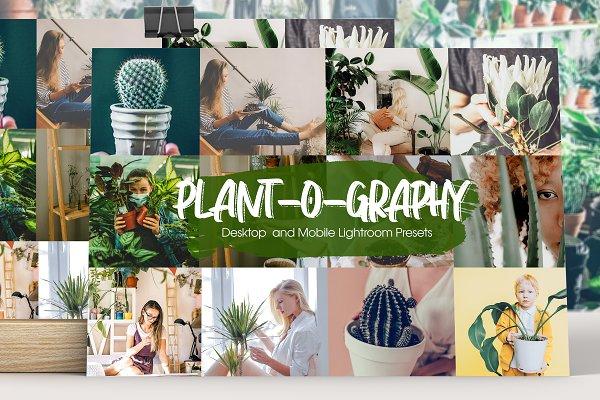Download Plant-o-graphy Lightroom Presets