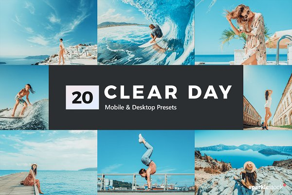 Download 20 Clear Day Lightroom Presets LUTs