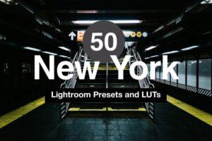 Download 50 New York Lightroom Presets & LUTs