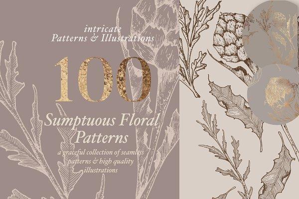 Download Floral Patterns & Illustrations