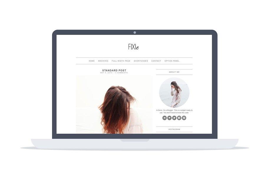 Download Fixie - Minimal Wordpress Theme