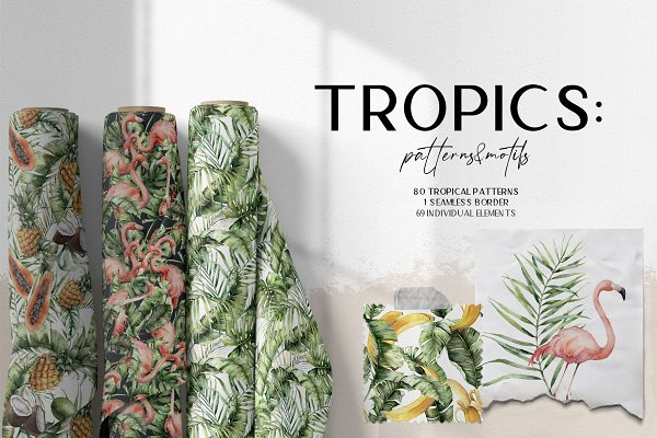 Download Tropics: leaves patterns and motifs