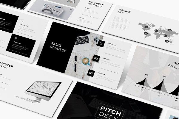 Download Pitch Deck Google Slides Template