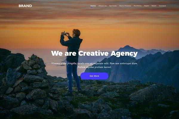 Download Brand - HTML5 Creative Multipurposes