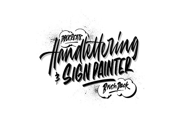 Download Procreate Hand Lettering Brush Pack
