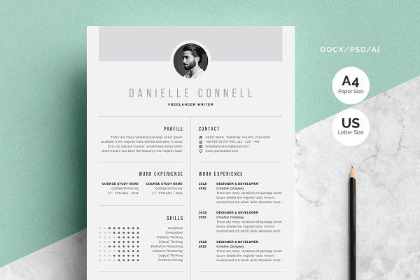 Download Creative Resume   CV Design