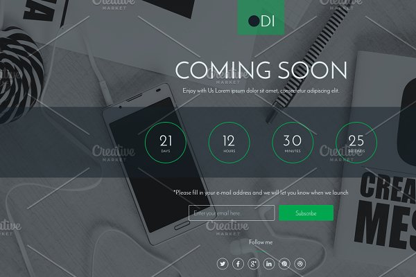 Download ODI Coming soon html template