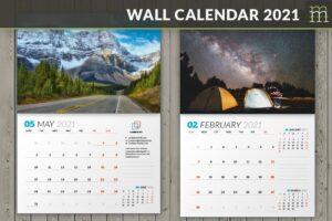 Download Wall Calendar 2021 (WC031-21)