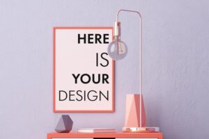 Download 10 posters in the interior mock ups