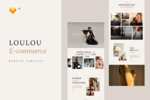Download Loulou Fashion E-commerce Template