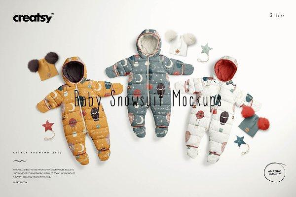 Download Baby Snowsuit Mockup Set (13/LFv.2)