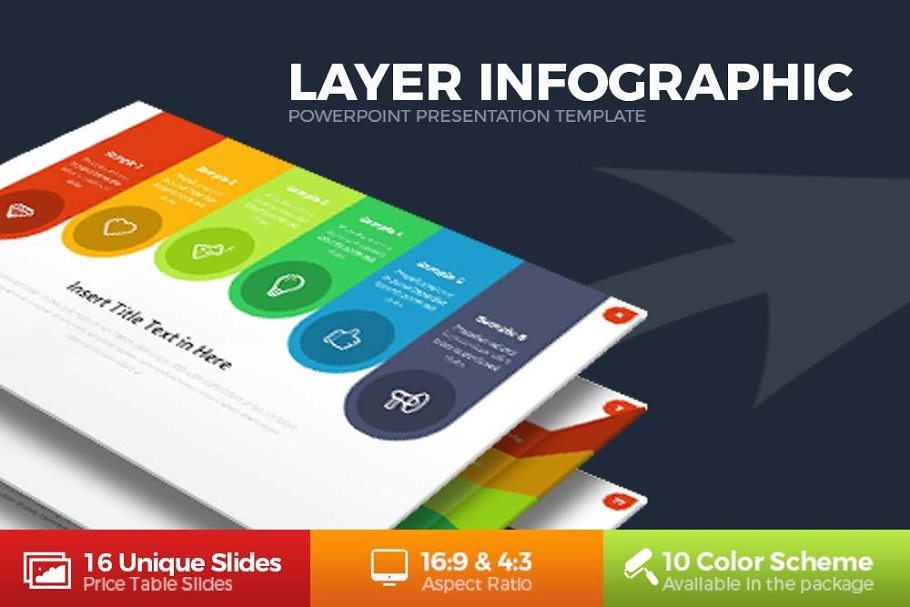 Download Layer Infographic Powerpoint