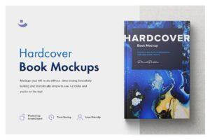 Download Hardcover Book Mockup Set