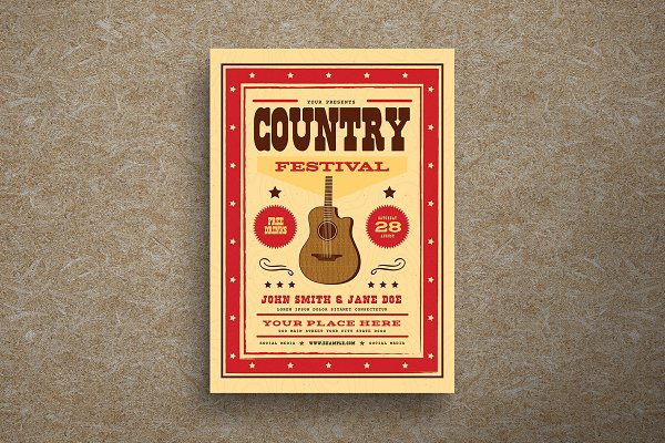 Download Country Festival Event Flyer
