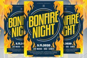 Download Bonfire Night Flyer