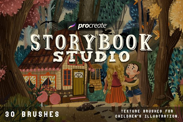 Download Storybook studio for Procreate