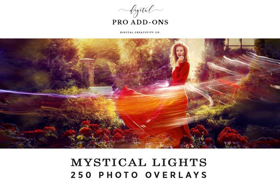 Download Mystical Lights - 250 Photo Overlays
