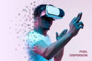 Download Pixel Dispersion Photo Effect