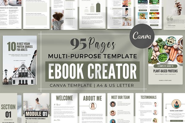 Download eBook Creator Template - Canva