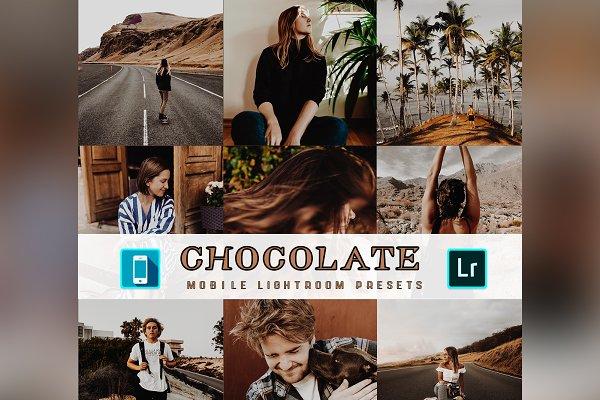 Download 3 Lightroom Mobile Presets Chocolate