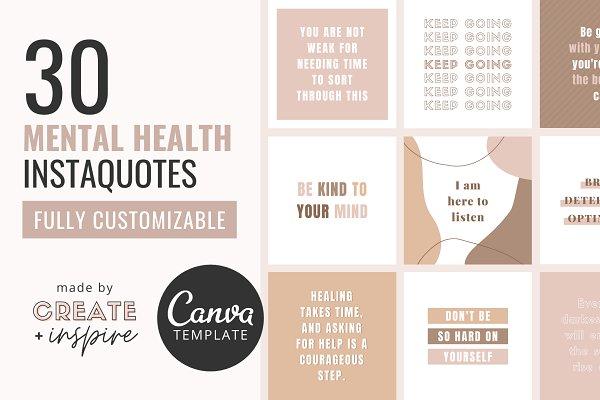 Download MENTAL HEALTH Instagram Quotes