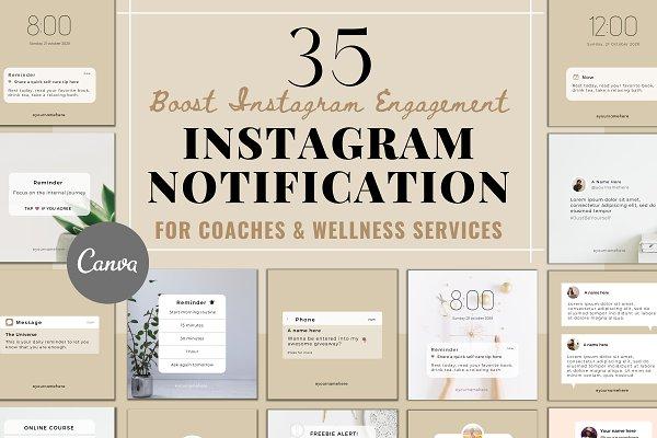 Download Instagram Notification Templates