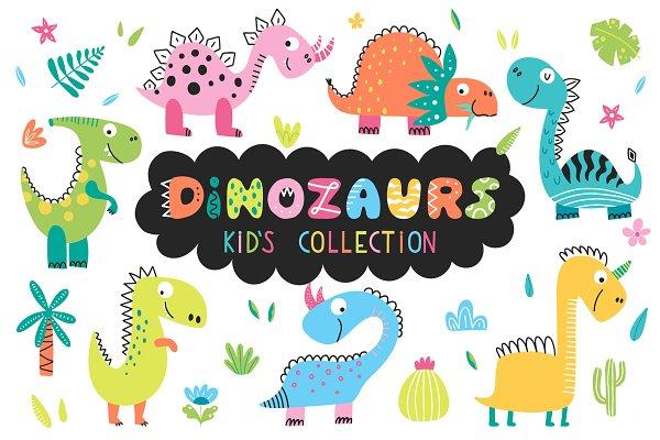 Download Dinosaurus - kids collection