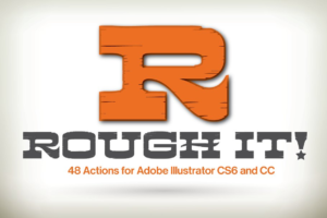 Download Rough It! for Illustrator CS6 and CC
