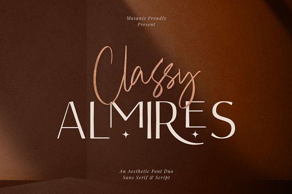 Download Classy Almires - Font Duo