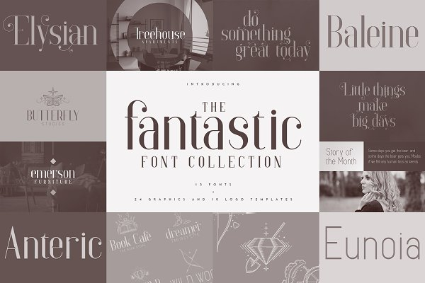 Download Fantastic Collection - fonts & logos
